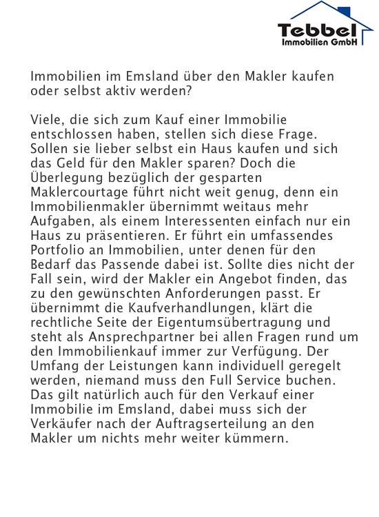 Makler Emsland